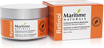 Canada's Premium Retinol Moisturizer for Face -HUGE 120ml - Hyaluronic acid and vitamin A - super anti aging skin cream...