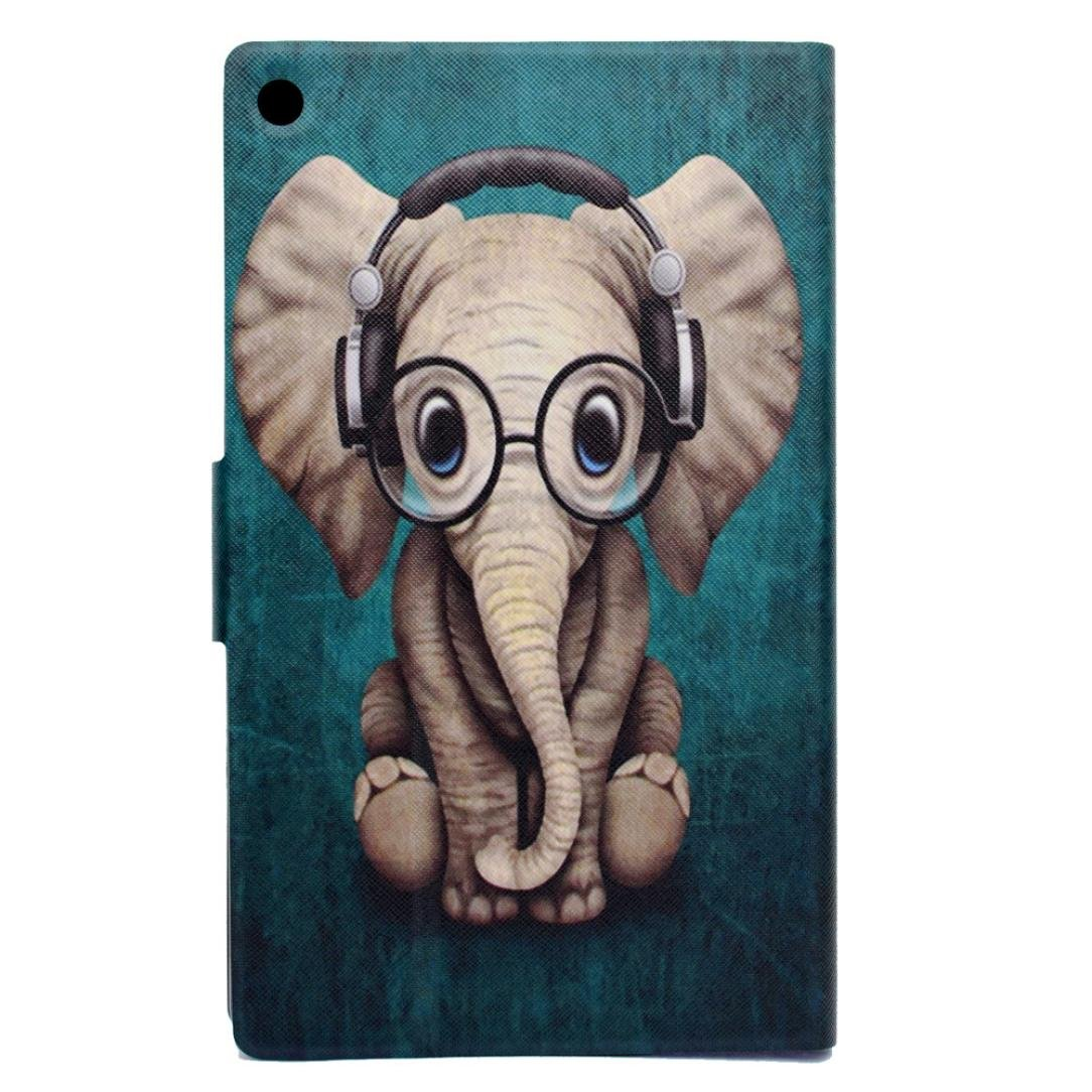 A Case For  Kindle Fire HD 8 2017 Stand Cover Jaminy Leather Stand Tablet Case For  Kindle Fire HD 8 2017