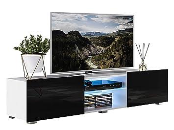 Mirjan24 Tv Lowboard Focus Ii Tv Kommode Led Beleuchtung Im Set