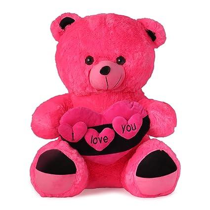 Buy skylofts 80 cm i love you heart stylish teddy bear pink online skylofts 80 cm i love you heart stylish teddy bear pink altavistaventures Choice Image