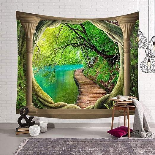 Nordic Hang Art tapicería de Pared decoración del hogar Mural ...