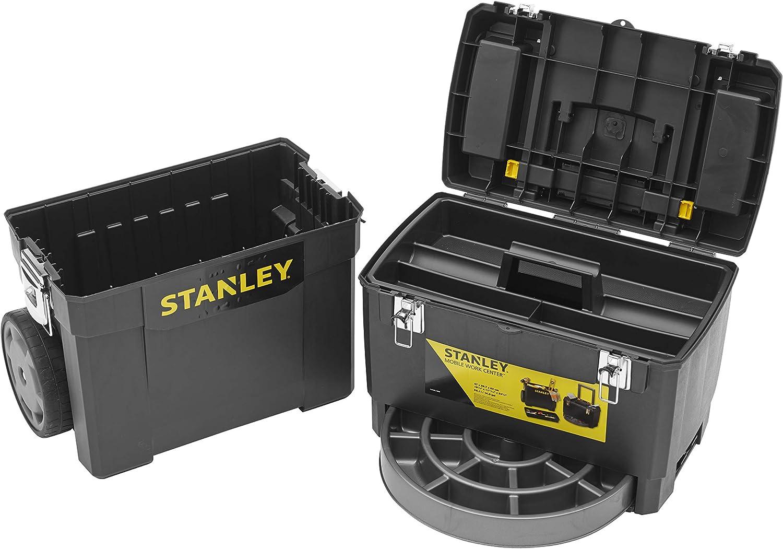 STANLEY 1-93-968 - Taller móvil para herramientas 2 en 1, 47,3 x 30,2 x 62,7 cm: Amazon.es: Bricolaje y herramientas