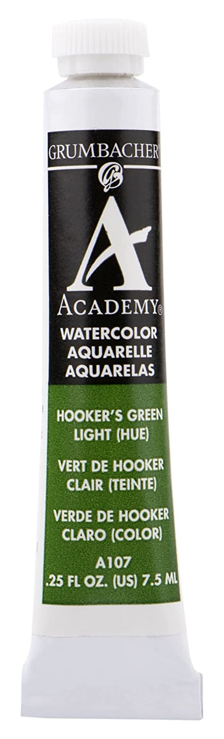 Amazon.com : Grumbacher Academy Watercolor Paint, 7.5ml/0.25 oz., Magnesium Green (A133) : Art Paints : Office Products