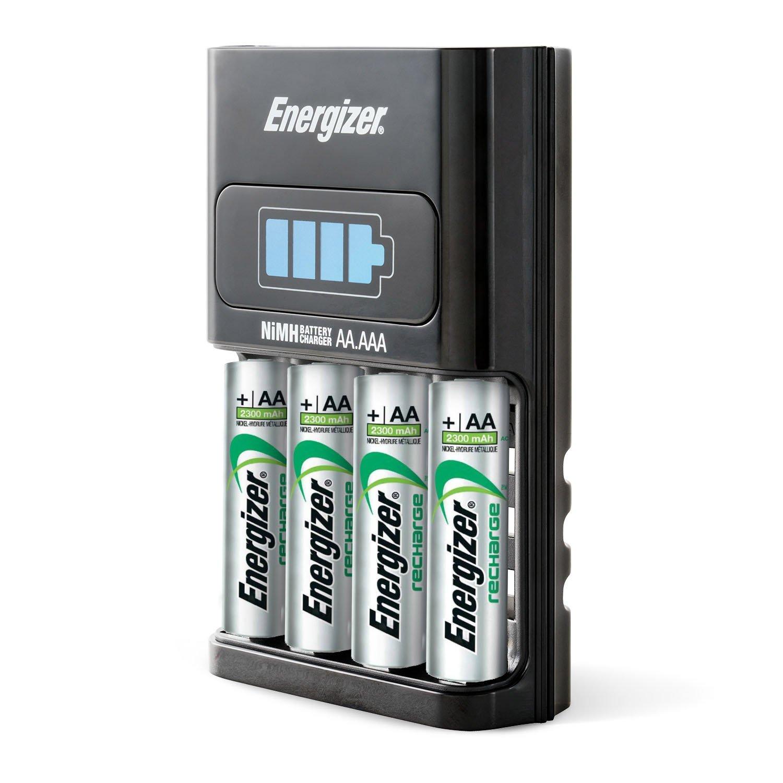 Energizer 894695 - Cargador de Pilas AA+AAA