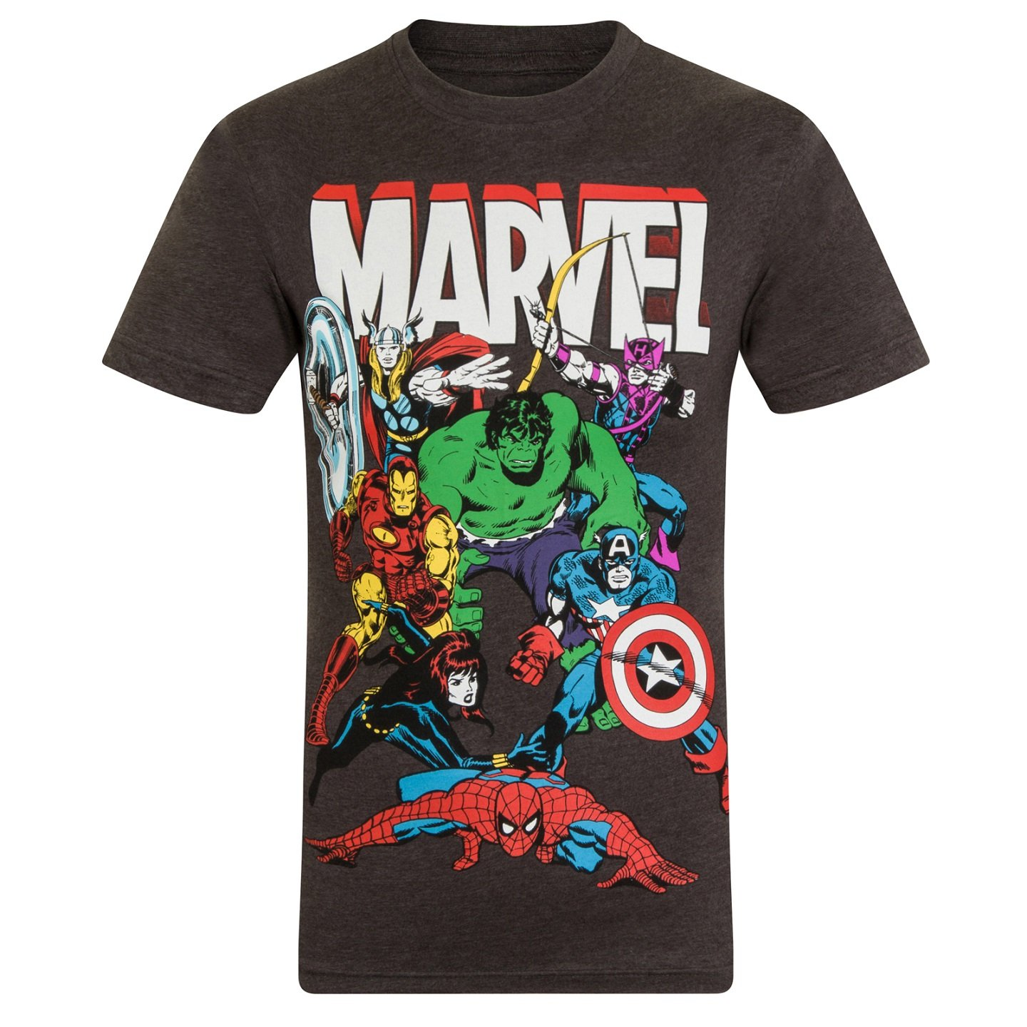 Marvel Comics Official Gift Mens Character T-Shirt Iron Man Thor