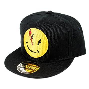 DC Comics vigilantes para hombre Gorra de béisbol - The comediante de gorra con visera colour negro: Amazon.es: Deportes y aire libre