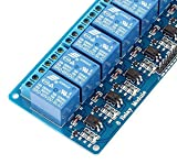 LANDZO 8 Channel 5V DC Relay Module Expansion Board for Arduino Raspberry Pi DSP AVR PIC ARM