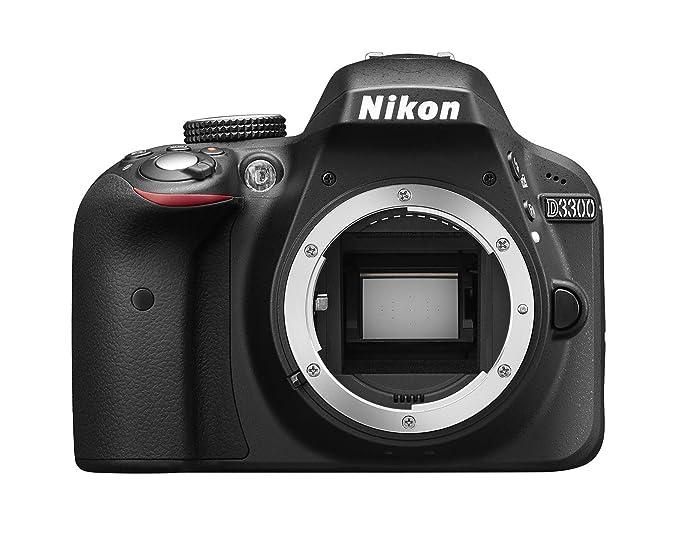 Nikon D3300 + AF-P 18-55mm + SD 8GB Juego de cámara SLR 24,2 MP ...
