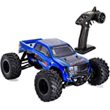 Distianert 1:12 RC Car 4WD High Speed Off Road Remote Control Car 35km/h 2.4Ghz Radio Controlled Monster Truck Buggy Racing Toy Electric Vehicle Rock Crawler with LED Night Vision