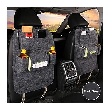 Car Back Seat Organizer Hanging Bottle Holder Travel Storage Bag Box Case Kitchen Multi Pocket