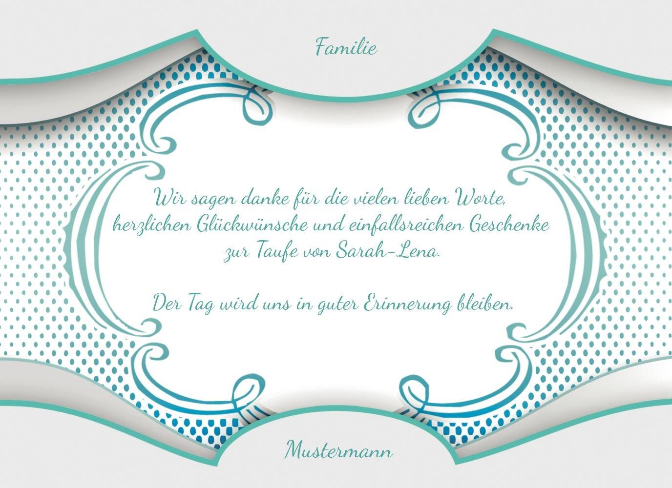 Kartenparadies Dankeskarte Taufe Taufe Dankes Schale & & & Rahmen, hochwertige Danksagung für Taufgeschenke inklusive Umschläge   10 Karten - (Format  148x105 mm) Farbe  Matschgrün B01N39UJC9 | Günstige  | Neues Design  | Feine Verarbeitung  0d1cf8
