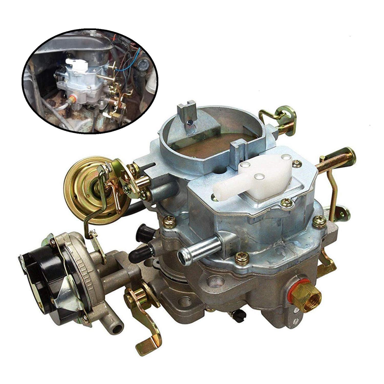 yjracing 2-Barrel Carburetor Fit for Jeep Bbd 6 Cyl 4 2L 258Cu
