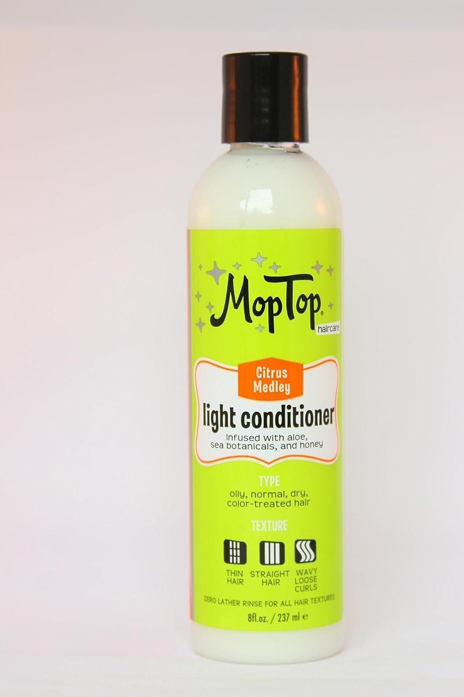 MopTop junk-free Light Conditioner - 8 oz - Citrus Medley Inc. MT_LC 8