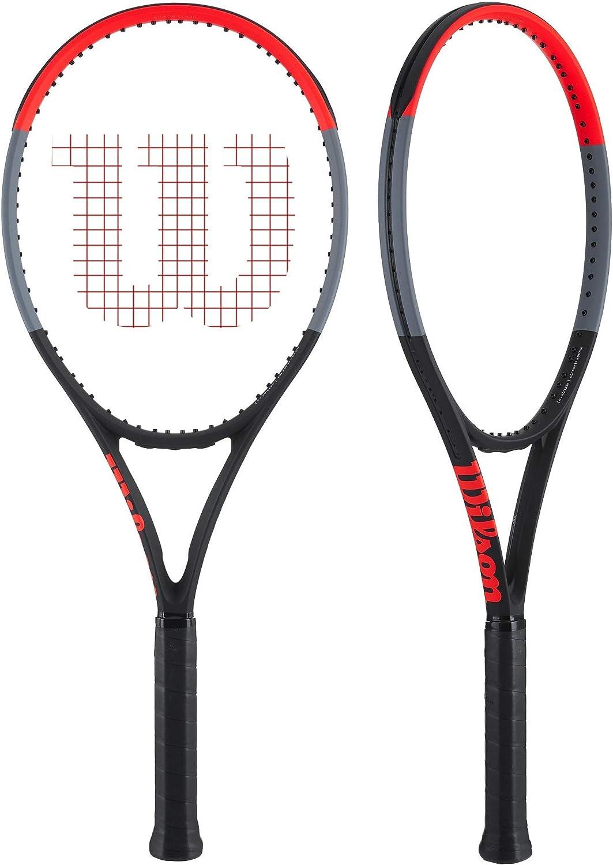 Amazon.com: Wilson Clash 100 Tour - Pala de tenis en colores ...