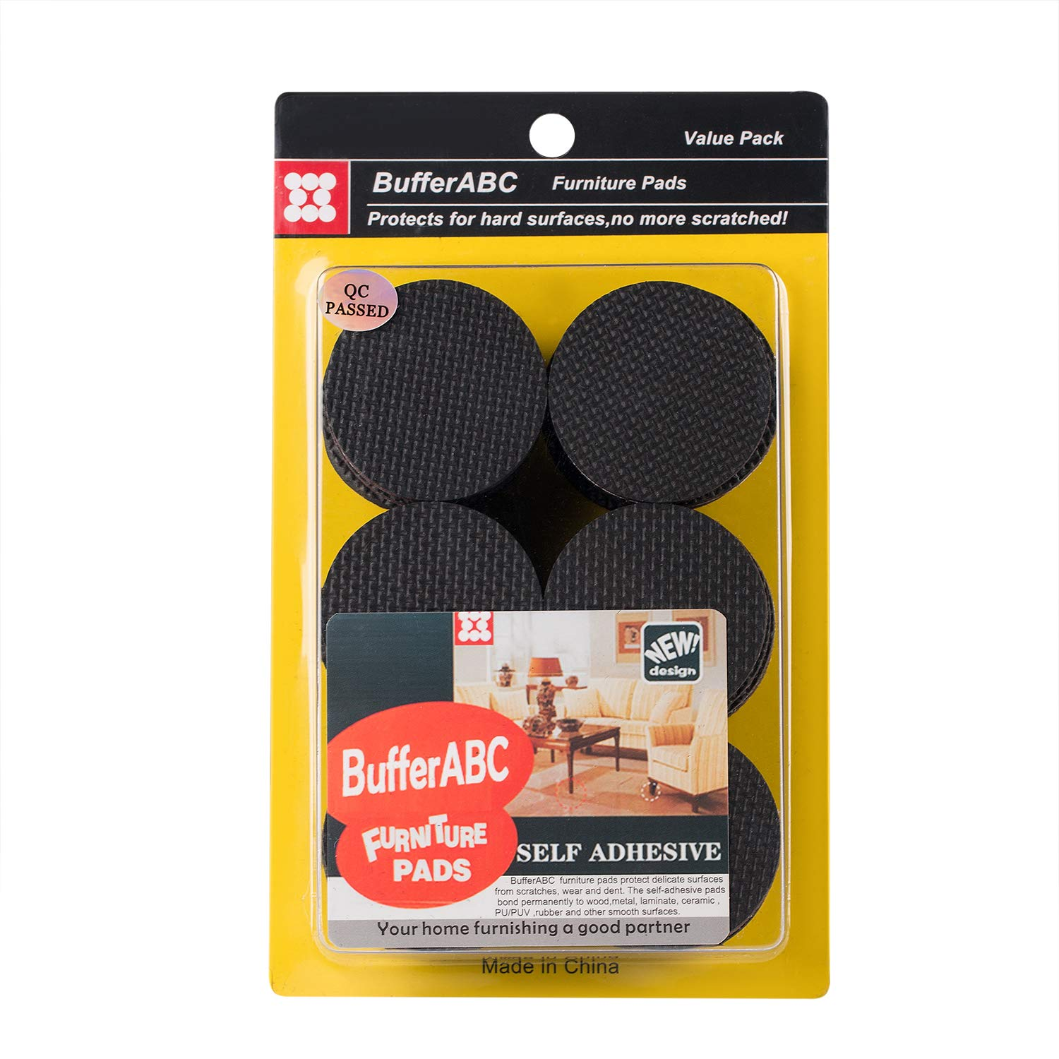 Trustful 1 Pack Self Adhesive Rubber Door Buffer Feet Pad Silicone Clear Feet Bumpers For Door Accessories Furniture Legs Pads Price Remains Stable 24 Pcs