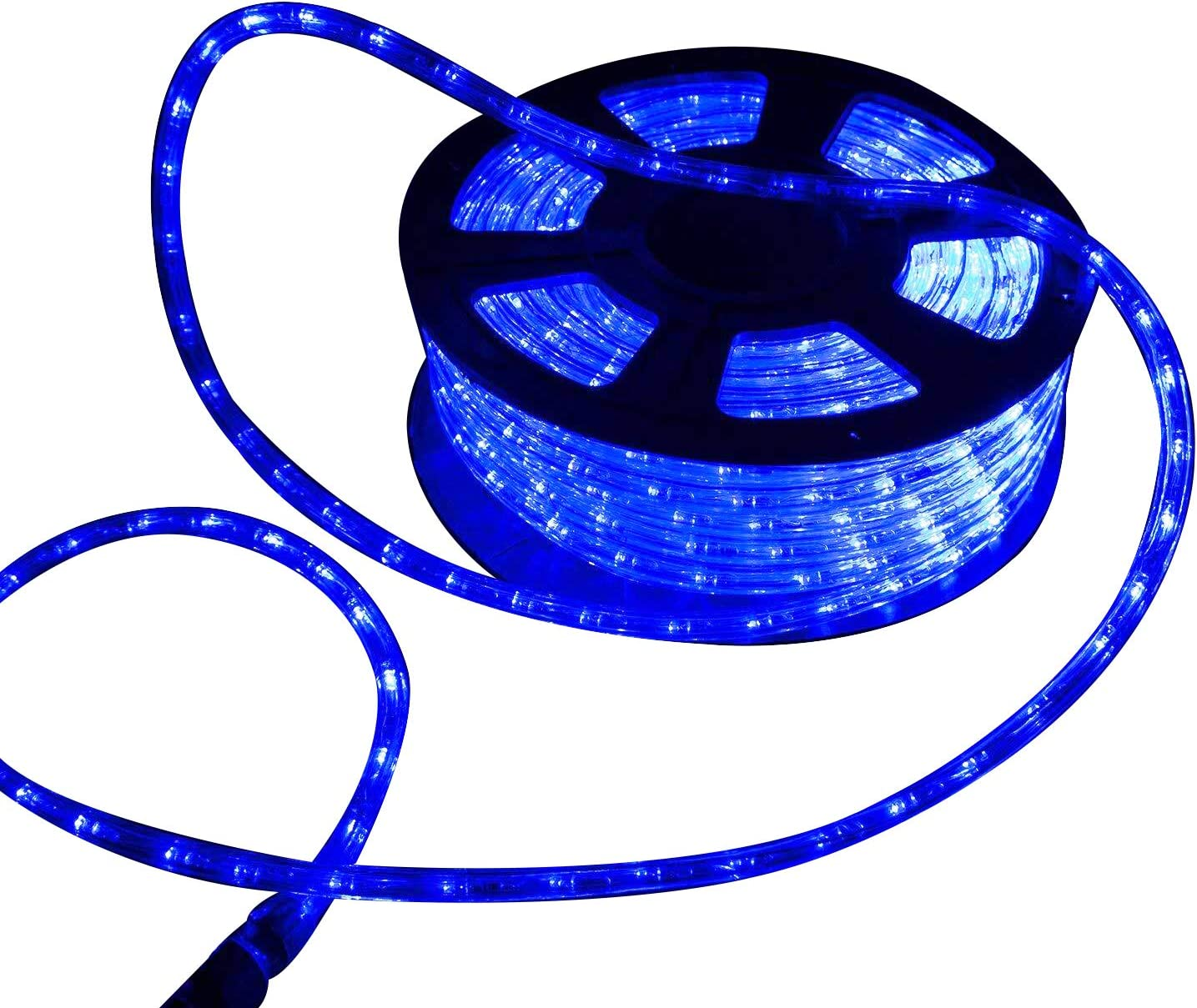 Ainfox LED Rope Lights, 150Ft 1620 LEDs Strip Lights Indoor Outdoor Waterproof LED Rope Lighting Decorative Lighting (Blue)