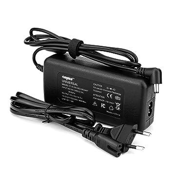 Sunydeal - Cargador Adaptador Fuente de alimentación Universal para Ordenador Portátil ,15V-24V, 90W, para Acer, Sony, Fujitsu, Toshiba, NEC, ...