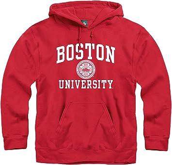 Ivysport Premium Cotton Crewneck Sweatshirt with Crest Logo NCAA Colleges