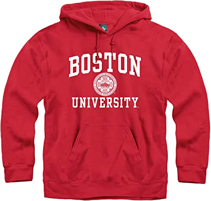 Ivysport Cotton Long Sleeve T-Shirt with Classic Logo School Color NCAA Colleges