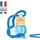 National Engraver Aroma Car Air Freshener Scent Fragrance Wood 6 ml Aqua Hanging Bottle