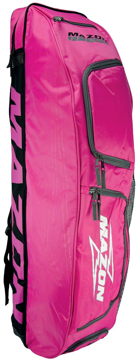 Mazon Fusion Combo Bag - Bolsa para material de hockey sobre hierba, color rosa, talla Size 6