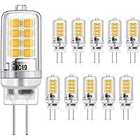 G4 LED-lamp 3W gelijkwaardige 20W halogeengloeilampen, warm wit 3000K, g4 fitting energiebesparing, geen flikkering…