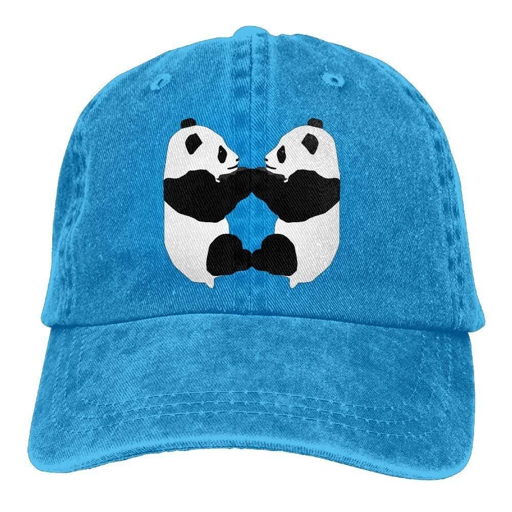 JTRVW Cowboy Baseball Caps Men/&Women Dad Style Hat Cute Panda Love