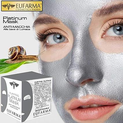 riche et magnifique très loué comment acheter Eufarma - Platinum Mask - Masque visage anti tache à la bave ...