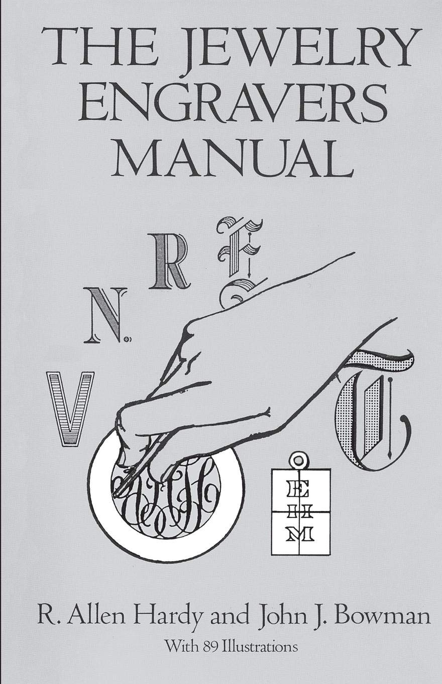 Jewelry Engravers Manual Dover Craft product image