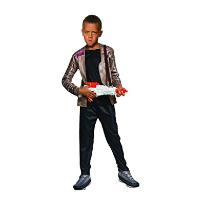 Star Wars Ep VII Finn Deluxe Child Costume: Toys & Games