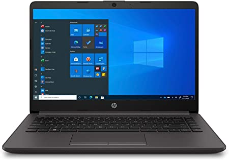 "HP 240 G8 - Ordenador portátil de 14"" FullHD (Intel Celeron 4020, 8GB RAM, 256GB SSD, Windows 10 Home) Negro - Teclado QWERTY Español"