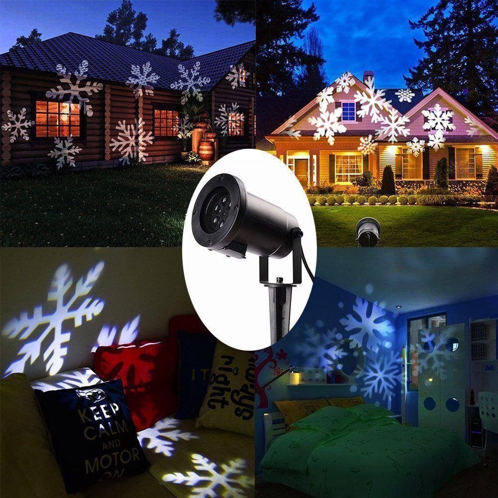 LUCKY GODDESS Natale progetto notte luce paesaggio riflettore movimento impermeabile Faretto Indoor Outdoor LED , cp