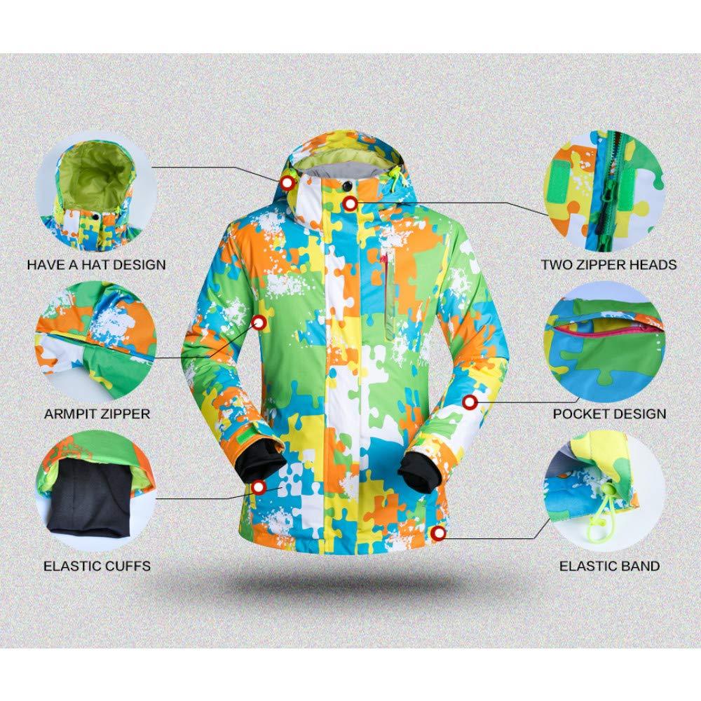 ZXGJHXF Tuta da Sci per Donna Donna Donna all'aperto Antivento Impermeabile Giacca da Neve Termica e Pantaloni Skiwear Pattinaggio Sci e Snowboard Suit,Lago Blu,MB07KXHVK3QL Light blu | Più pratico  | Acquista online  | Fashionable  | Del Nuovo Di Stile  | Presta 8b594b