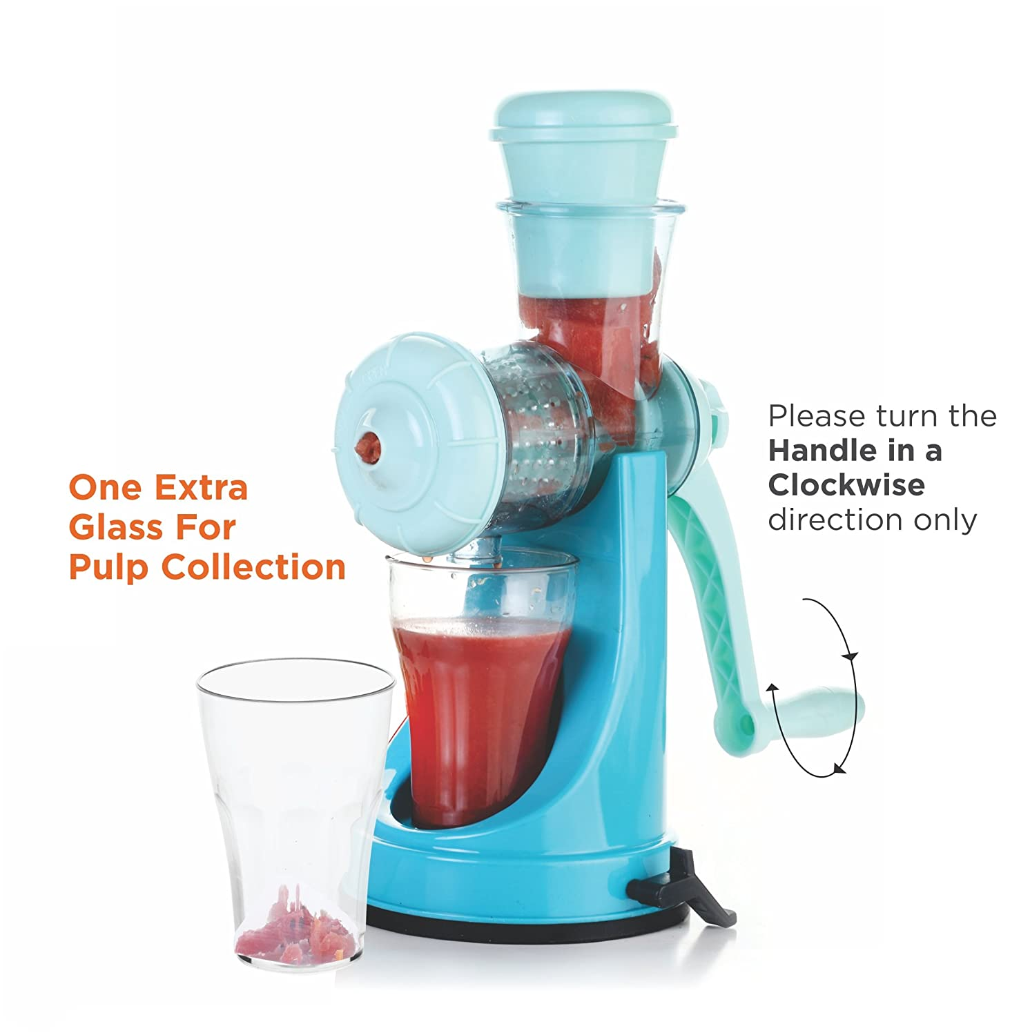 Manual juicer. Useful device for home 31