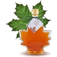 Maple Syrup Large Maple Leaf Bottle, 250ml (8oz)