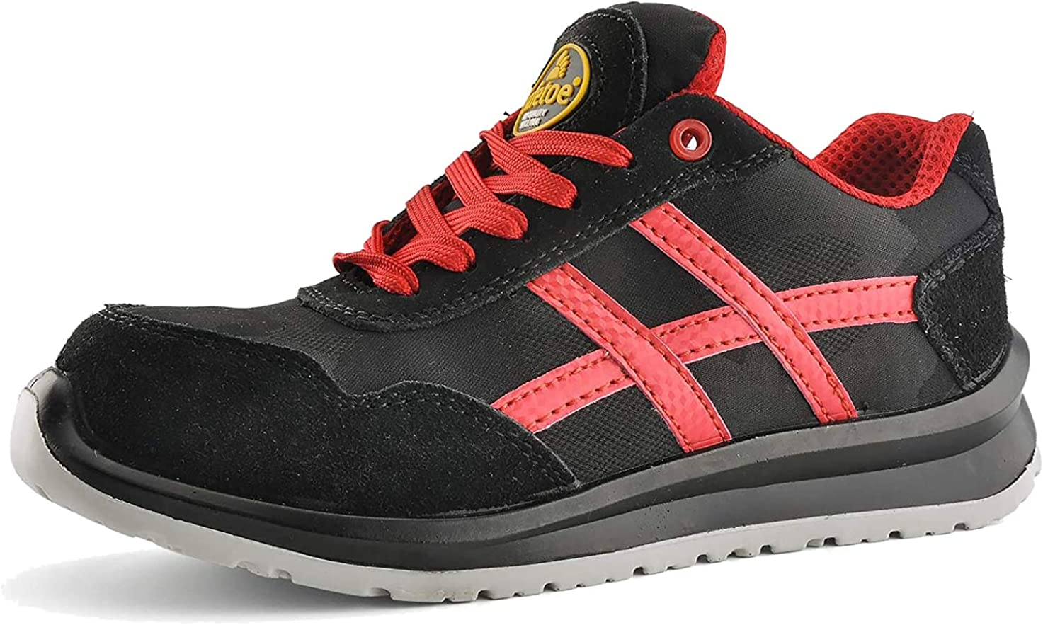 Zapatos de Seguridad Deportivos Ultra-Ligeros - SAFETOE 7329 Calzado de Seguridad Hombre Trabaja con Tus pies Bien protegidos