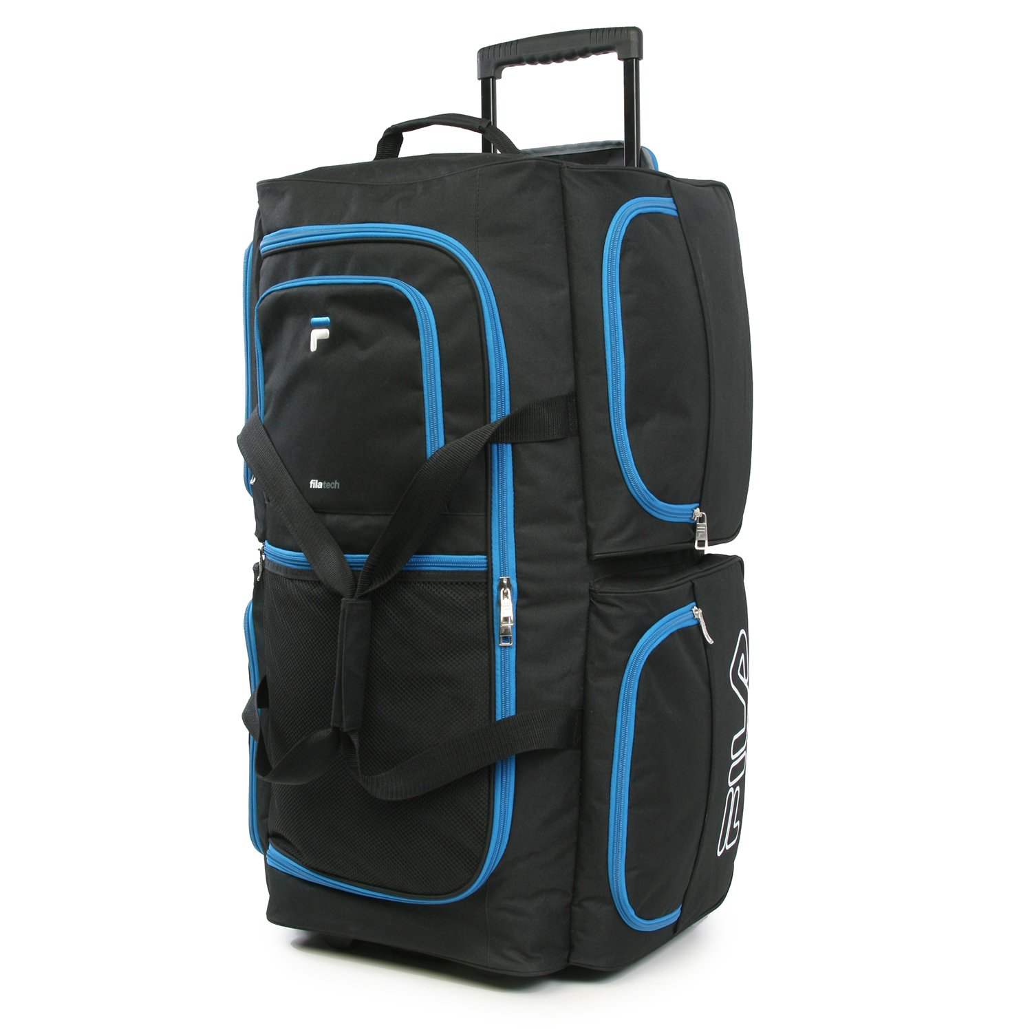 Luggage 30'' 7 Pocket Large Rolling Duffel Bag