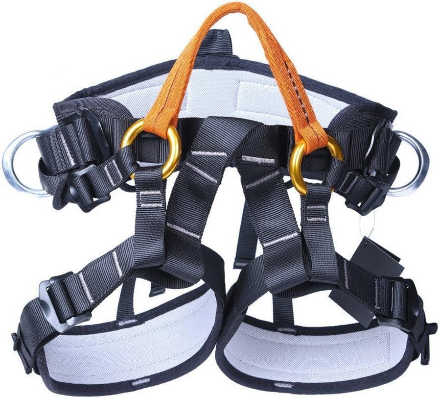 Cinturón de seguridad ajustable para escalada de montaña ...