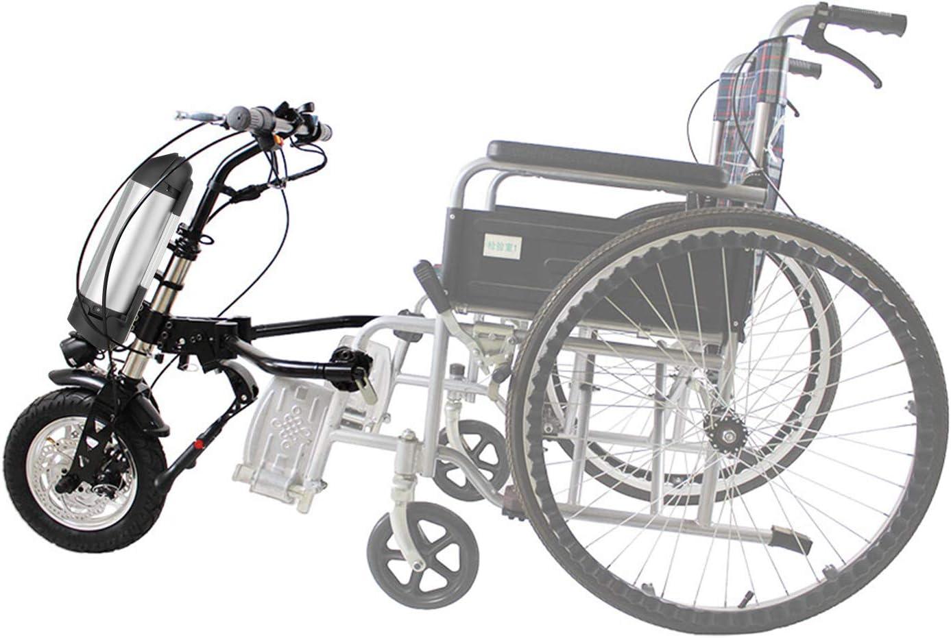 VEVOR Handbike para Silla de Ruedas 36V Kit de Conversión de Handbike Eléctrico para Silla de Ruedas 36V Adecuado para Sillas de Ruedas Deportivas Handcycle Silla De Ruedas 36V 250W