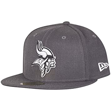 New Era 59Fifty Cap - GRAPHITE Minnesota Vikings grey  Amazon.co.uk ... ea39ef68f39