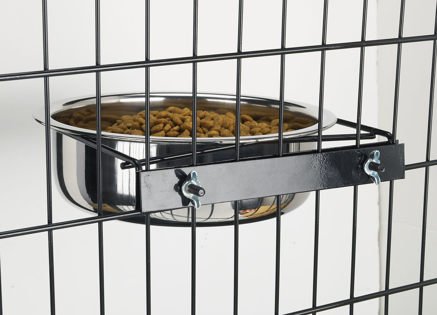 Pro Select Stainless Steel Coop Cups — Versatile Coop Cups for Pet and Animal Cages, 64-Ounce by Pro Select (Image #2)
