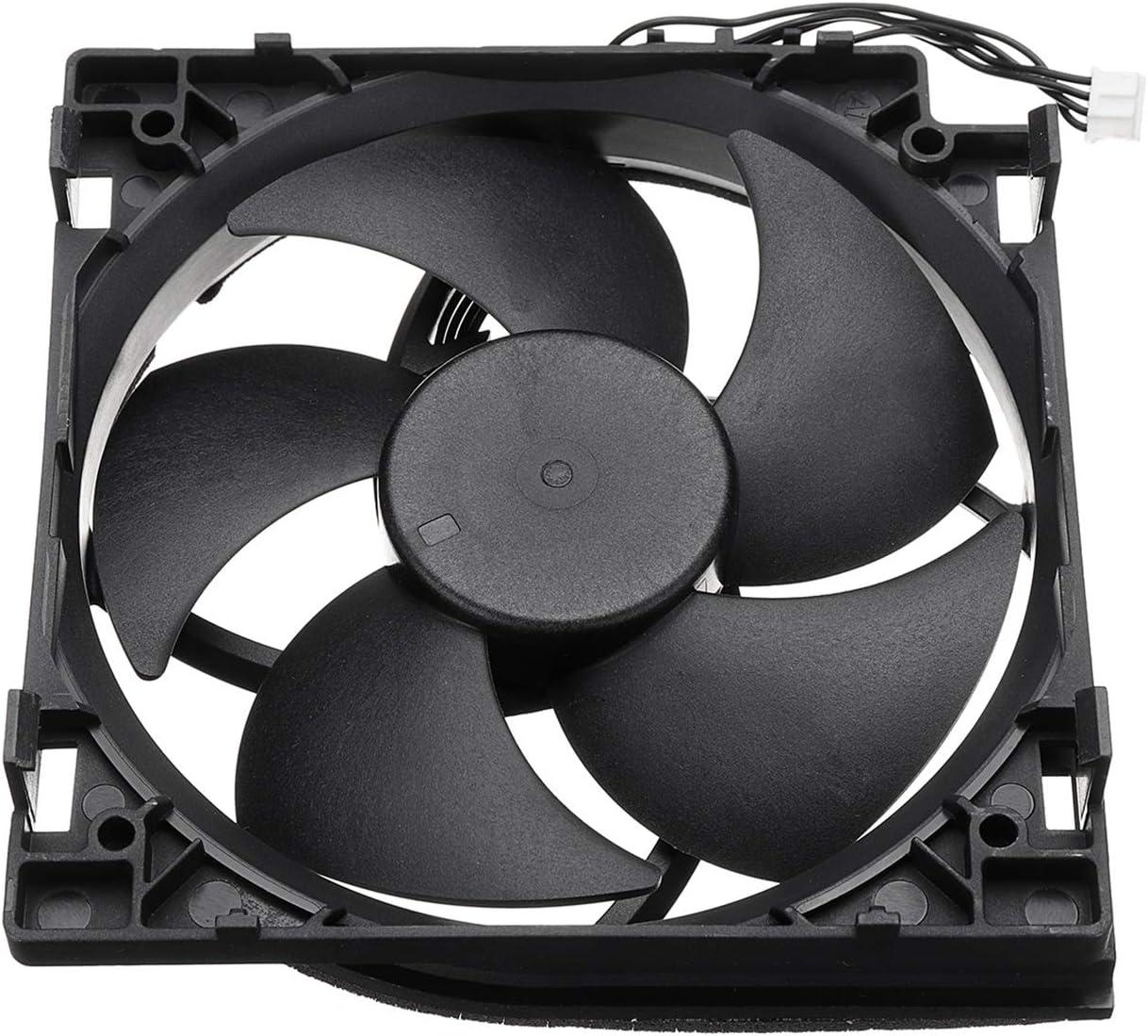 XZANTE Ventiladores Enfriador De Cpu Ventilador Enfriador De Reemplazo Ventilador De Enfriamiento Conector De 4 Pines De 5 Hojas para Xbox One S: Amazon.es: Videojuegos