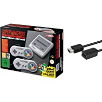 Nintendo Super Entertainment System SNES Classic Edition with 6-ft. Extension Cable