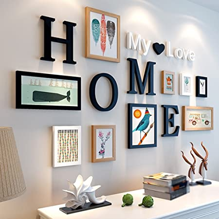 Photo LY Frames Solid Wood Wall Living Room Bedroom Creative
