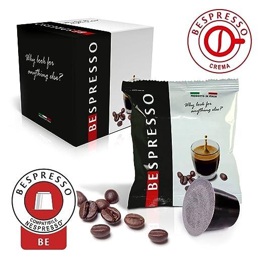 3 opinioni per BEspresso 50 capsule compatibili Nespresso gusto crema