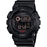 G-Shock GD-120 Military Black Sports Stylish Watch - Black / One Size