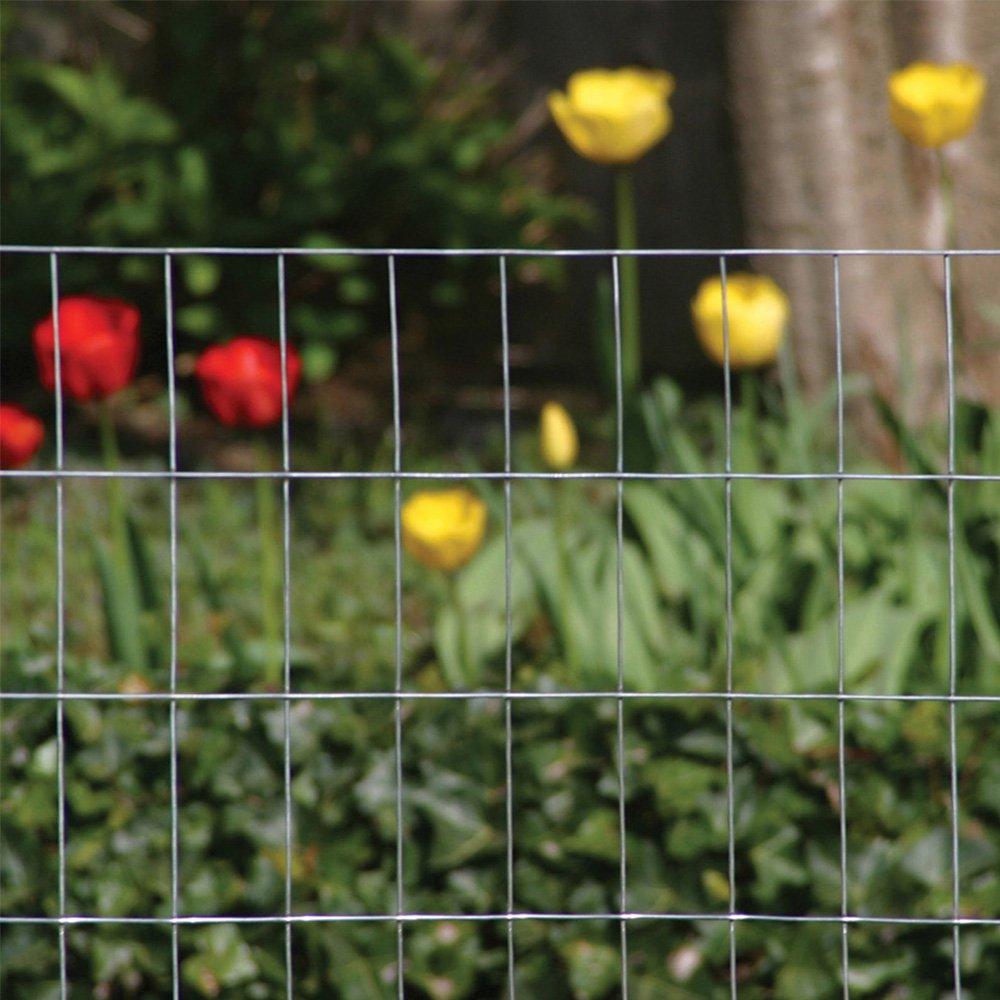 48 x 100//1 x 1//2 Silver YARDGARD 309304A Fence