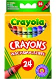 Crayola FBA_247 Classic Pack Crayons 24 Assorted Colors/Standard Box, Red