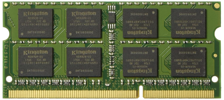 Kingston KVR16LS11/4 Arbeitsspeicher 4GB (DDR3L Non-ECC CL11 SODIMM 1,35V, 204-pin 1,5V)
