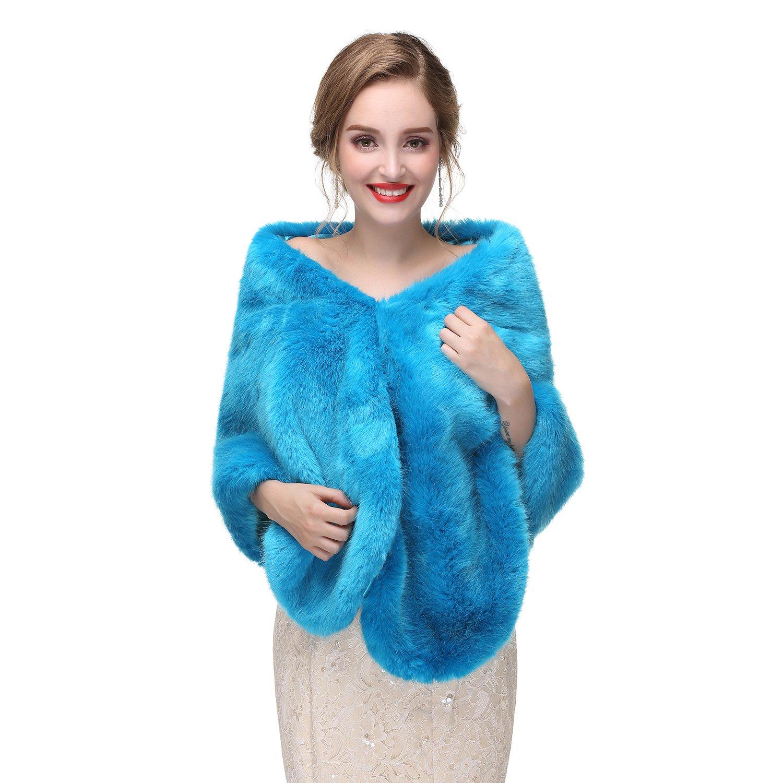 Beautyfudre ACCESSORY レディース B077HSQYLC  ブルー One Size